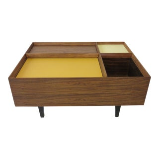 Milo Baughman Exotic Wood Coffee Table