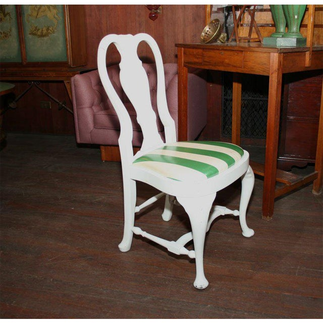 1940s 1940s Vintage Dorothy Draper Side Chairs- Set of 4 For Sale - Image 5 of 21
