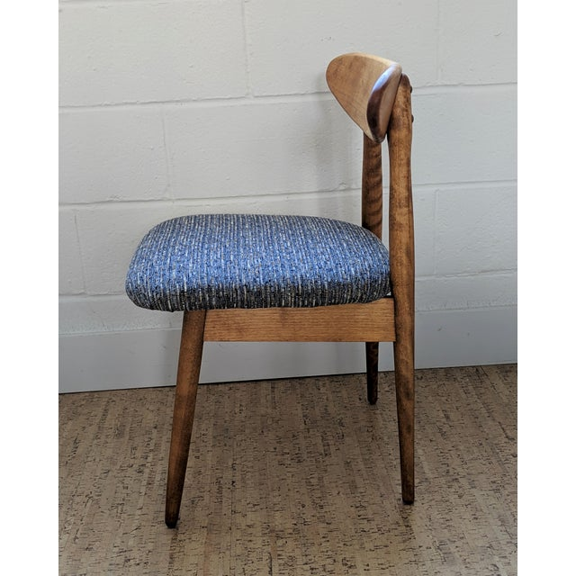 Danish Modern 1960s Vintage Baumritter Style Side Chair For Sale - Image 3 of 11
