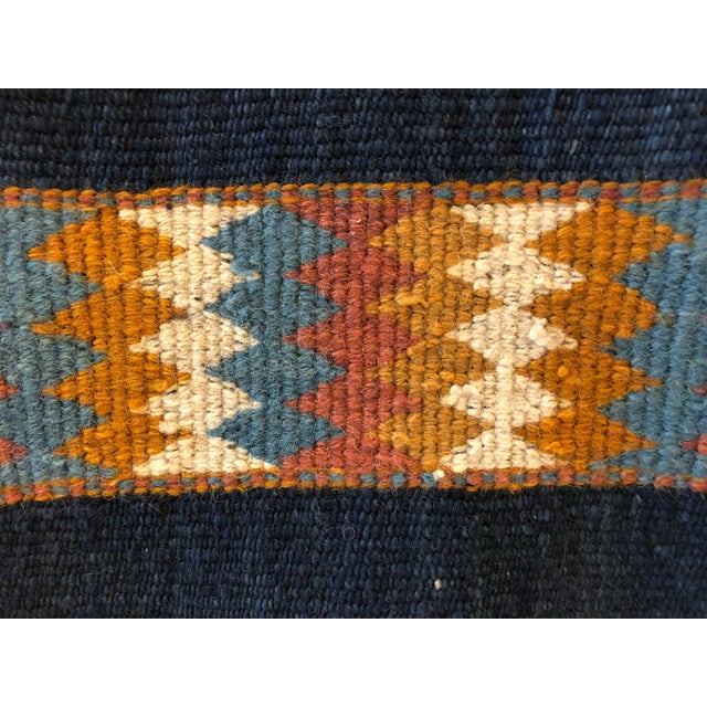 Vintage Jordanian Flatweave Rug For Sale - Image 4 of 7