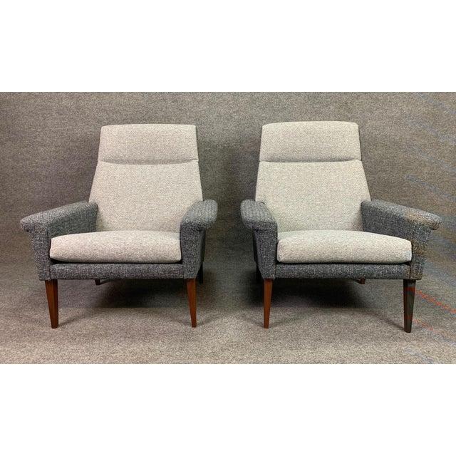 1960s Vintage Danish Mid Century Modern Lounge Chairs A Pair Chairish