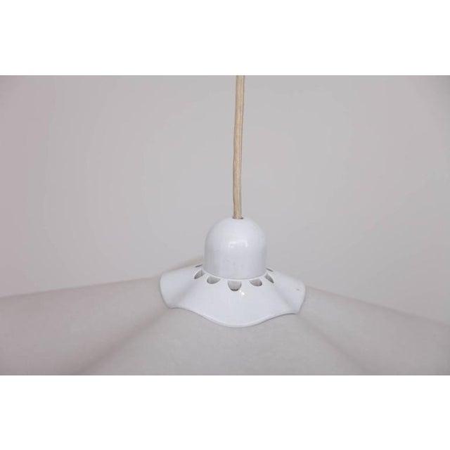 "Belgian Rare Mario Bellini ""Area"" Counterweight Pendant Lamp by Artemide For Sale - Image 3 of 7"