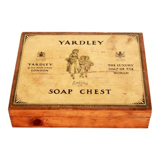 Mid 20th Century Yardley English Soap Chest Box For Sale
