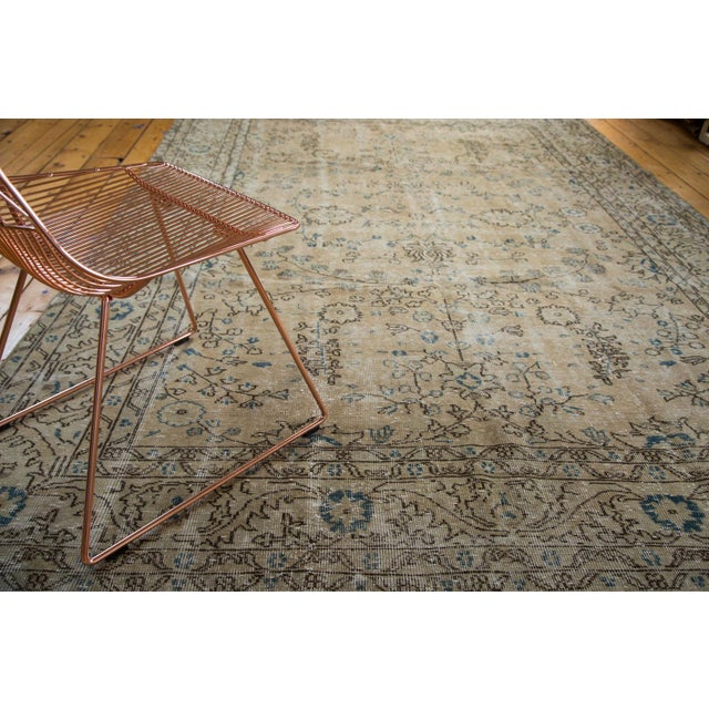 "Vintage Oushak Carpet - 7'1"" x 10' - Image 2 of 7"