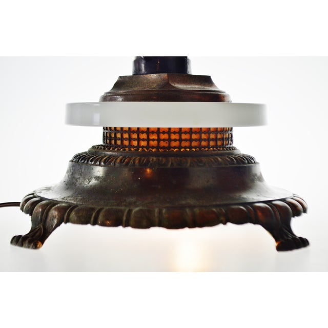 Art Deco Figural Lighted Ashtray Stand - Image 7 of 10