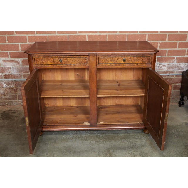 Black Continental Cabinet For Sale - Image 8 of 11