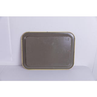 Madcap Cottage Mid-Century Red-Painted Metal Serving Tray Preview