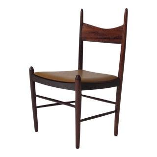12 Vestervig Eriksen Rosewood Danish Dining Chairs For Sale