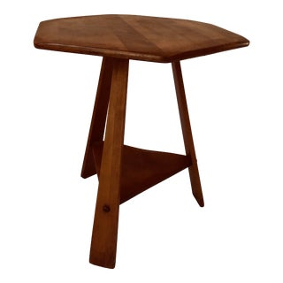 Vintage California Arts & Crafts Style Country Table For Sale