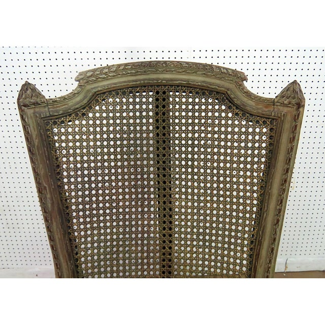 Louis XV Style Armchair For Sale - Image 4 of 9