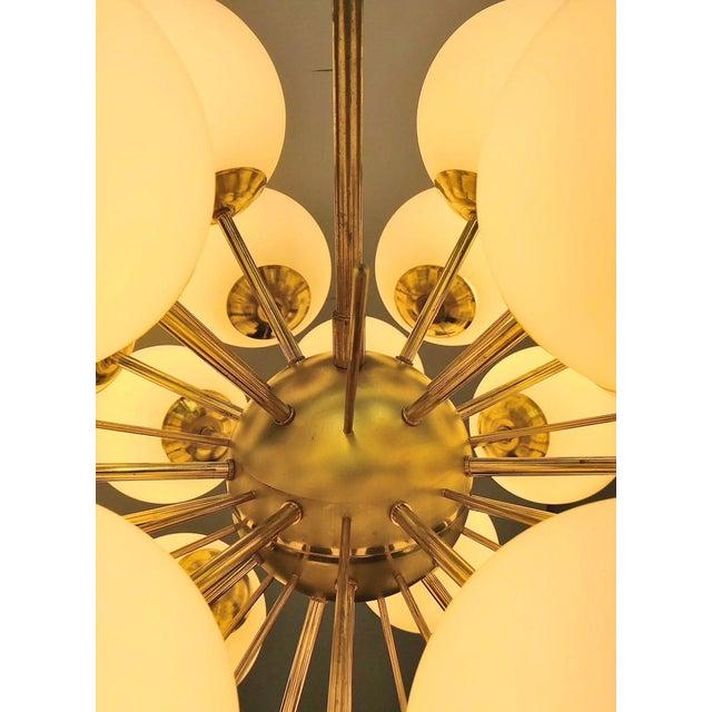 Ventiquattro Sputnik Chandelier by Fabio Ltd For Sale - Image 9 of 12