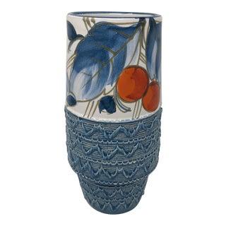 Mid Century Italian Ceramic Vase For Sale