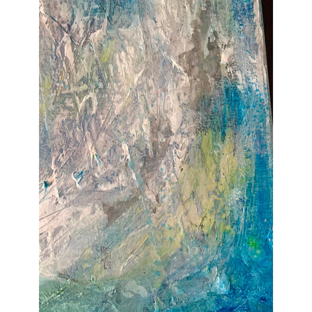 """Original Mixed Media Painting, """"Cosmic Swirls"""" For Sale - Image 4 of 11"""