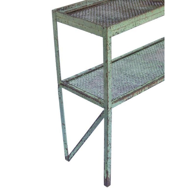Long Narrow Industrial Mesh Console - Image 10 of 11