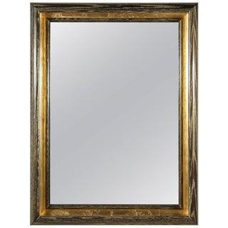 Paul Marra Design Cove Mirror in Gold Ceruse For Sale