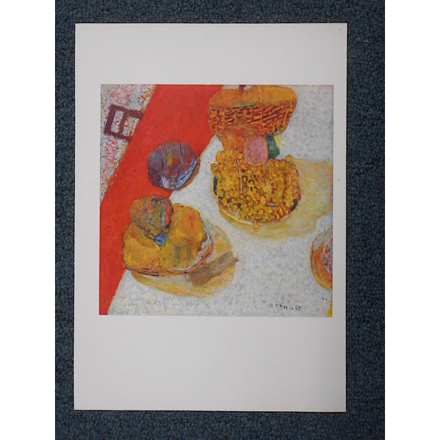 This mid 20th century lithograph (offset) depicts one of Pierre Bonnard's iconic images. Bonnard (1867-1947) was one of...