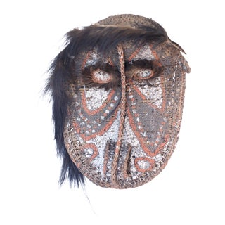 Vintage Sepik River Mask from Papua New Guinea For Sale