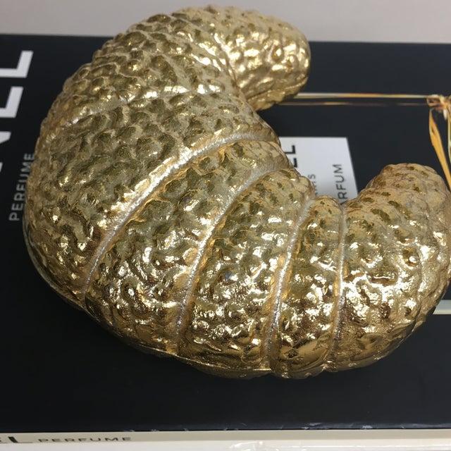 Metal Croissant Trinket Box For Sale - Image 7 of 11