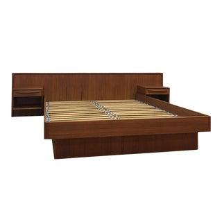 Danish Queen Platform Bed For Sale