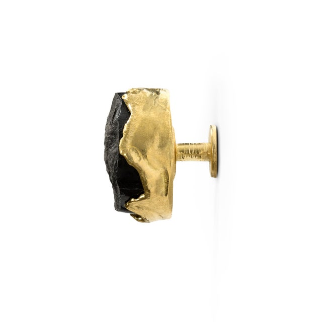 Mid-Century Modern Tiffany Marble Cm3004 Drawer Handle From Covet Paris For Sale - Image 3 of 6