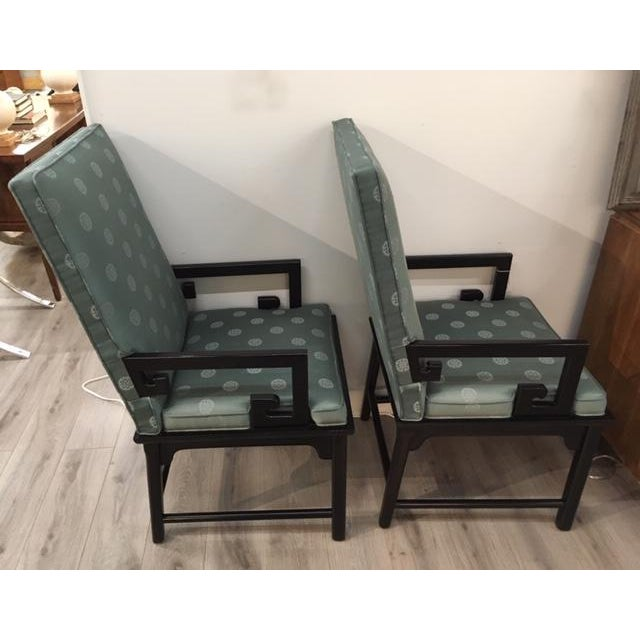 Asian Pair Asian Style Chairs For Sale - Image 3 of 7