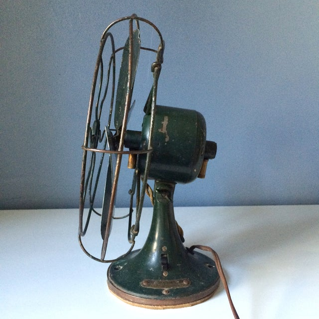 Vintage GE Industrial Table Fan - Image 7 of 10