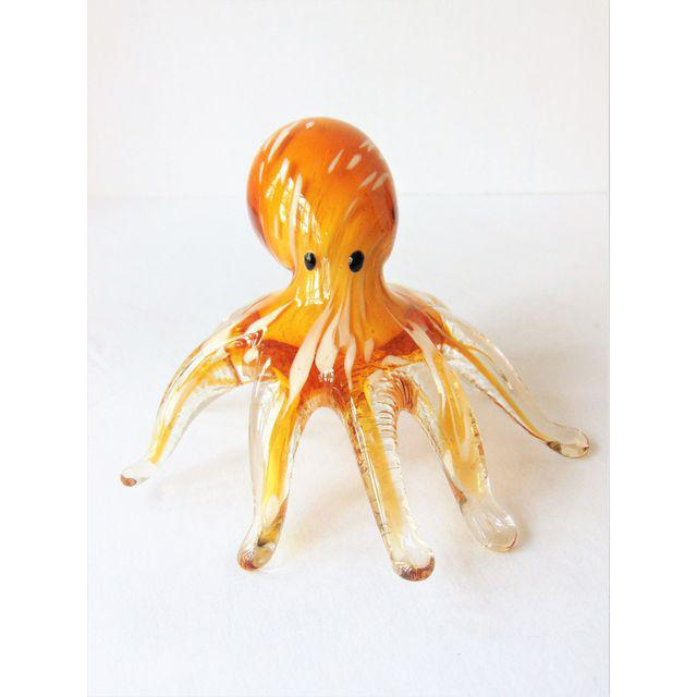 Brown Octopus Paper Weight - Image 2 of 2