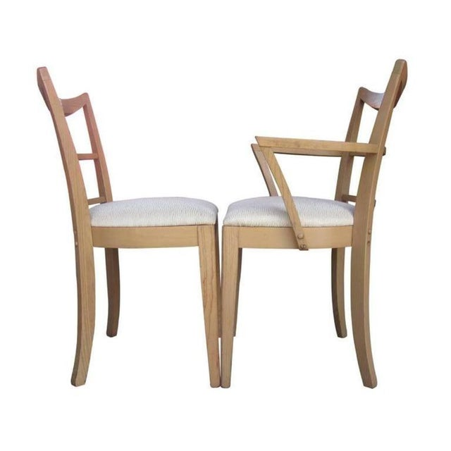 Paul Frankl Dining Chairs - Set of 10 - Image 6 of 8