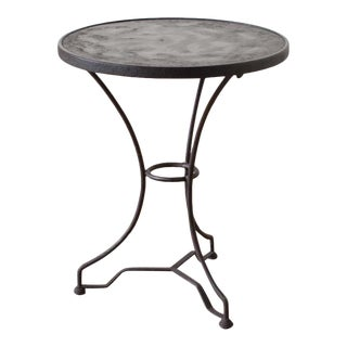 Contemporary French Style Side Table For Sale
