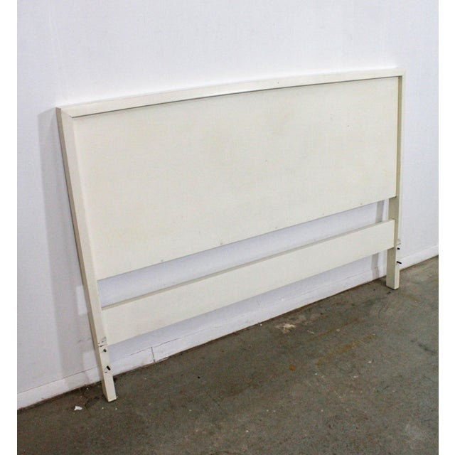 Offered is a very cool Mid-Century headboard, designed by Paul McCobb for Planner Group. It should fit a standard full...