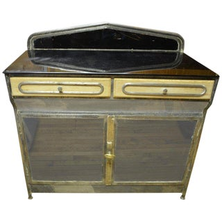 Medical Cabinet From the Art Deco Period, Circa 1920s For Sale