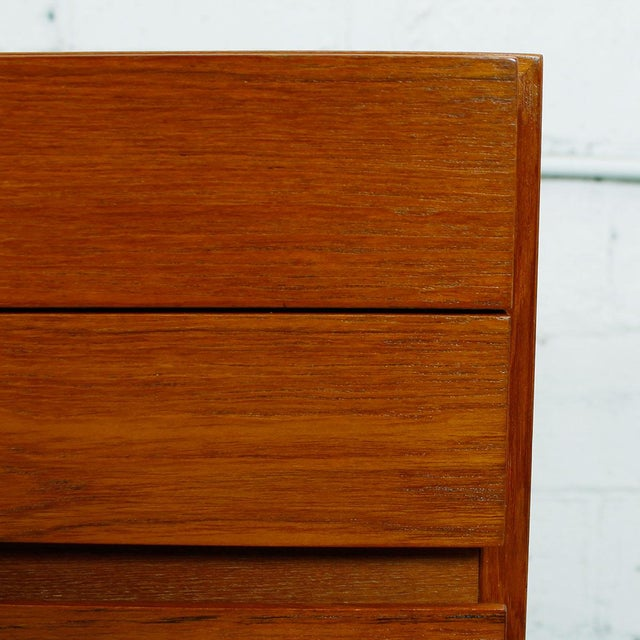 Vinde Mobelfabrik Danish Modern 10-Drawer Dresser For Sale - Image 10 of 10