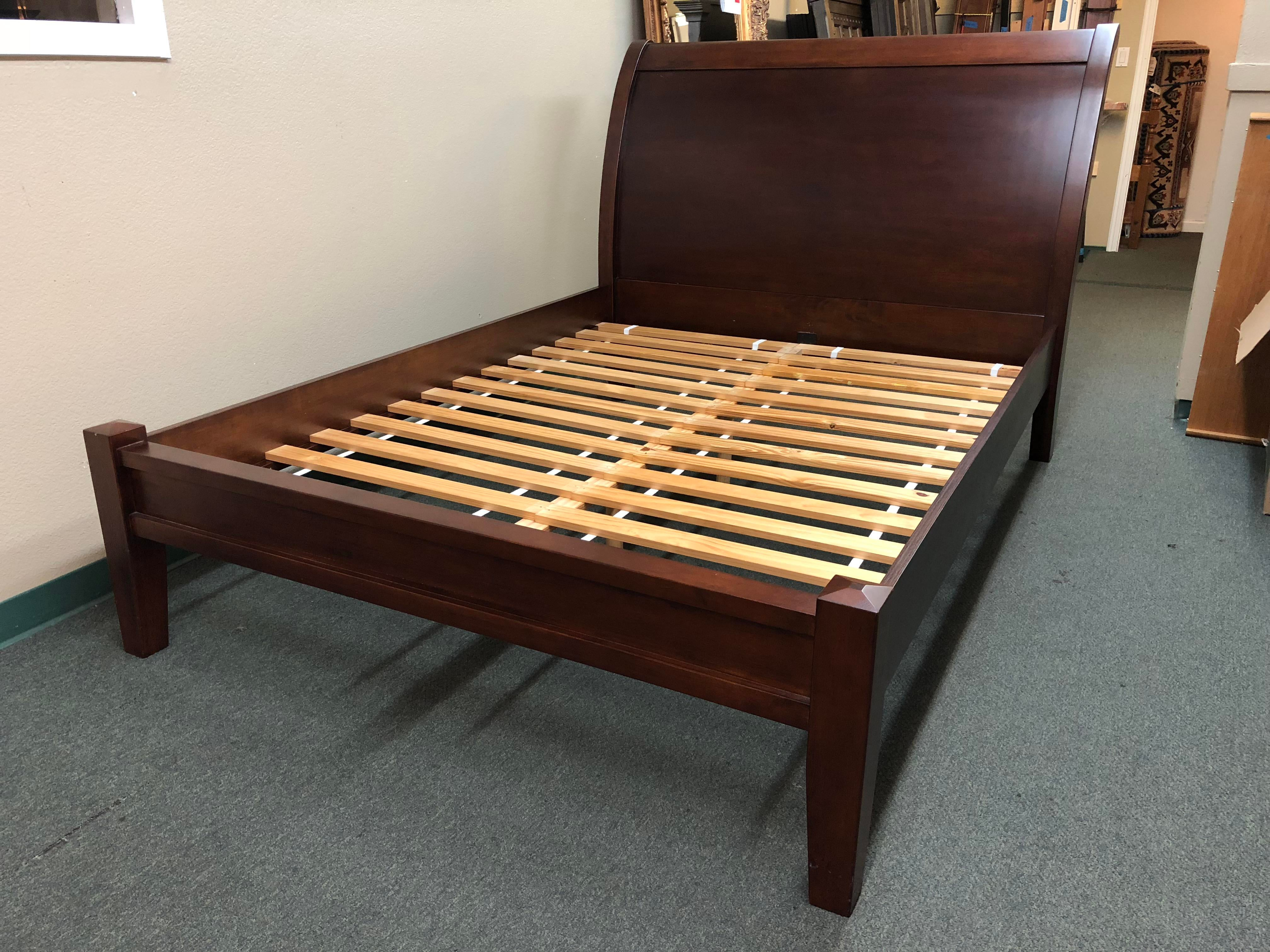 Design Plus Gallery Presents A Queen Size Bed Frame By Pottery Barn. From  The Valencia