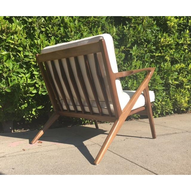 """Mid-Century Modern Style """"Z"""" Chair - Image 4 of 5"""
