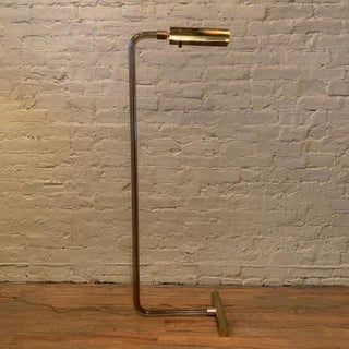 Peter Hamburger for George Kovacs Smoked Lucite Floor Lamp Preview