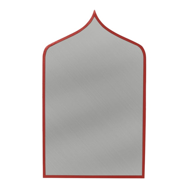 Stray Dog Designs for Chairish Marrakesh Mirror, Deep Red For Sale