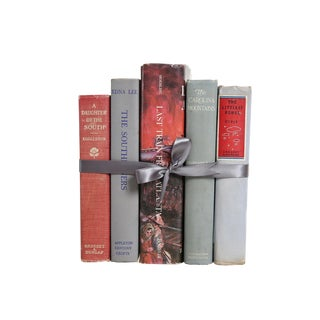 Vintage Decorative Book Gift Set: Southern MIX For Sale