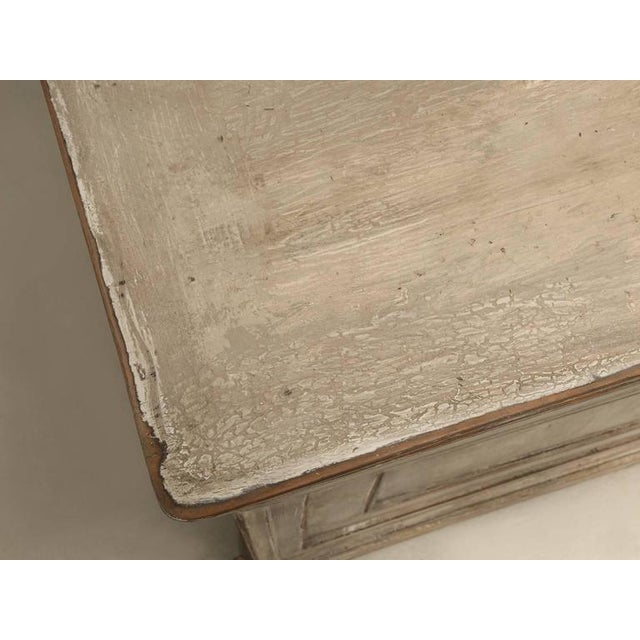 Antique French Bookcase and Desk For Sale - Image 4 of 10