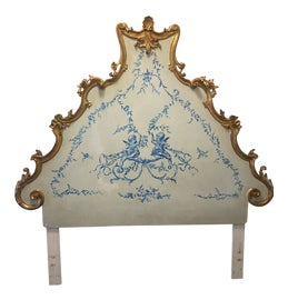 Image of Royal Blue Headboards