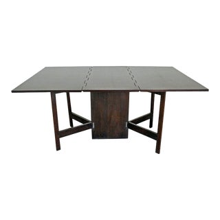 Mid-Century Modern George Nelson for Herman Miller Drop-Leaf Dining Table For Sale