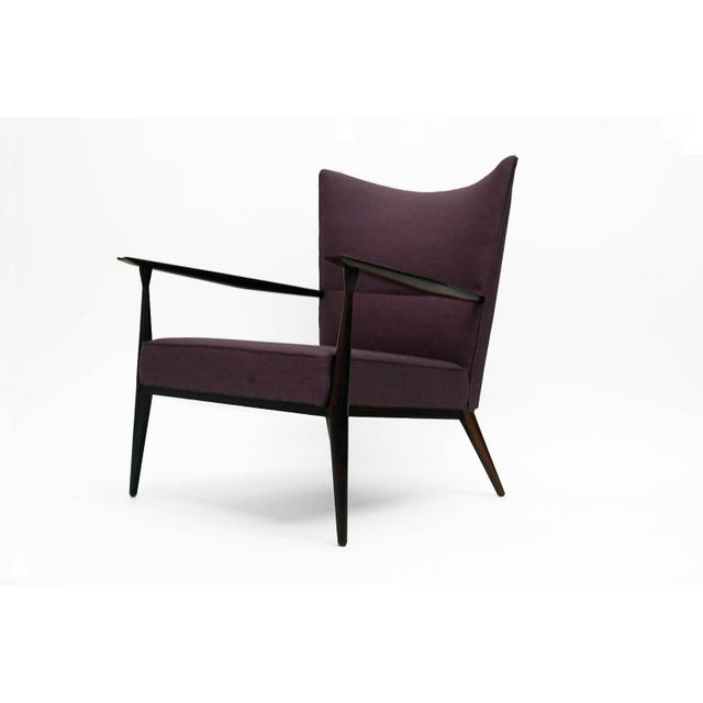 High back lounge chair designed by Paul McCobb and produced by Directional, circa 1959. Chair has been completely...