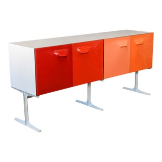 Raymond Loewy DF-2000 Double Sided Cabinet