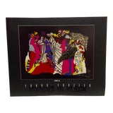 """Image of 1994 Limited Edition Signed """"Visions in Black"""" Second Born """"Najja"""" Poster by Frank Frazier For Sale"""