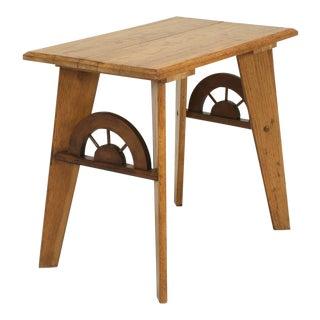 "American ""Ranch Oak"" Side or End Table"