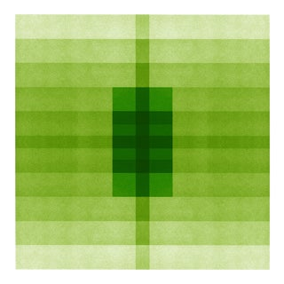 """Color Space Series 29: Grass Green Gradient"" Print"