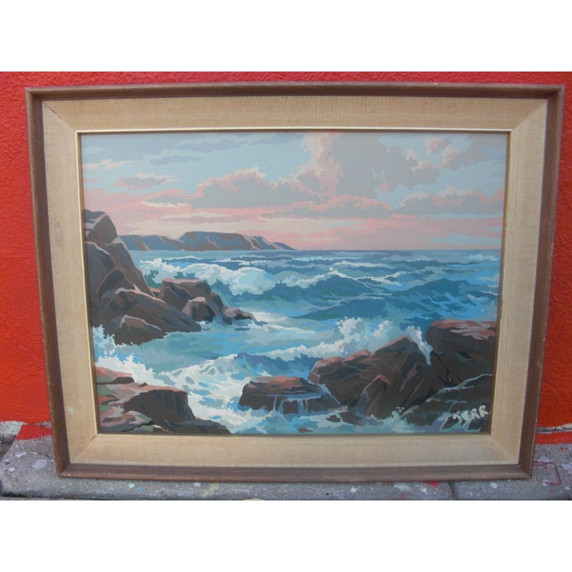 Paint by Numbers Ocean Seascape - Image 2 of 3