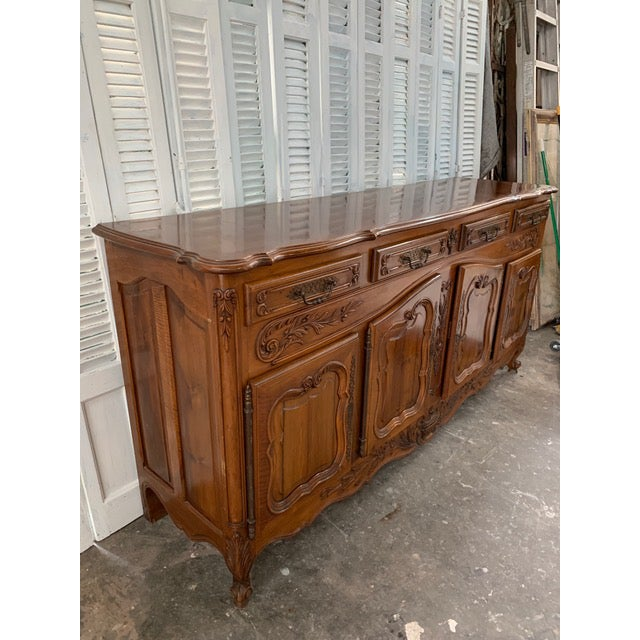 19th Century Louis XV Style Enfilade Buffet For Sale - Image 4 of 12