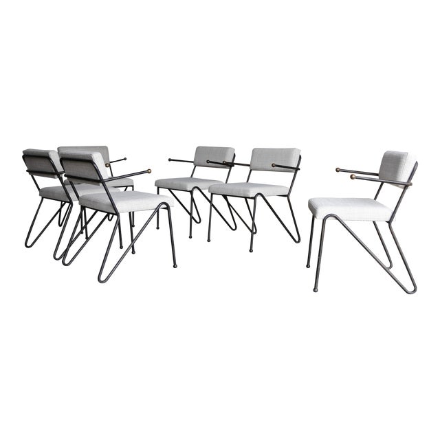 George Kasparian Dining Chairs, Circa 1950 For Sale