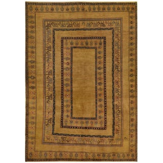 Mansour Original Handmade Persian Qashqai Rug For Sale
