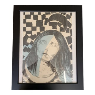 Framed Surreal Numbered Original Etching For Sale